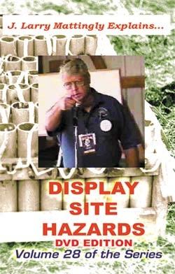 Display Site Hazards DVD by Mattingly