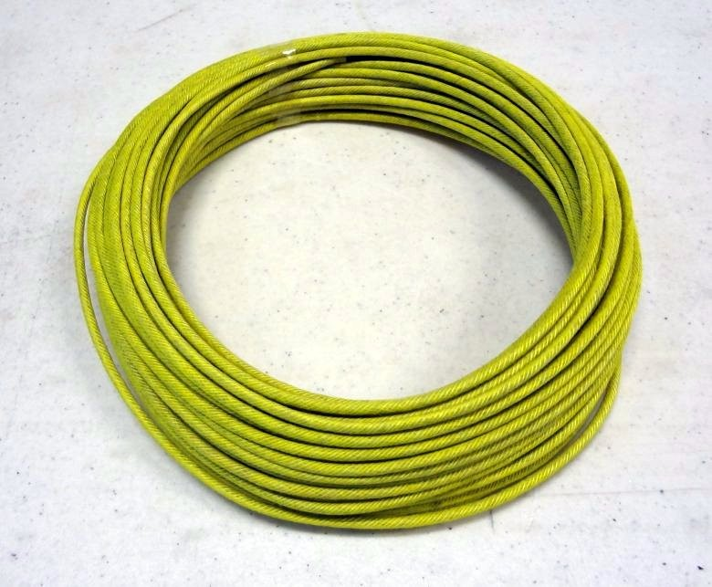 Yellow Crackling Fuse 3mm - 65' Roll