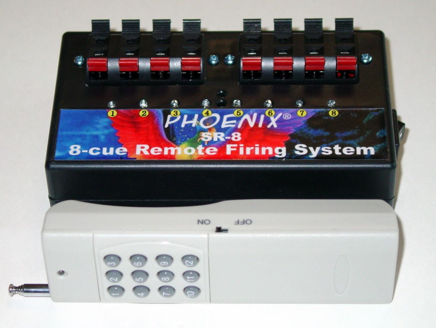 Phoenix SR-8 Single Receiver Firing System - FCC CERTIFIED