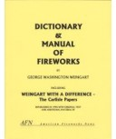 Dictionary & Manual of Fireworks by Weingart