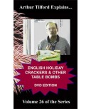 English Holiday Crackers & Other Table Fwks DVD by Tilford