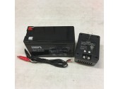 External Battery for FX System - 12 Volt 7 Ah Lead Acid with Charger