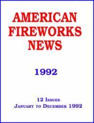 1992 AFN Back Issue Set