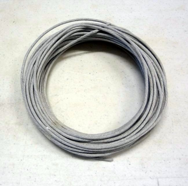 White Crackling Fuse 3mm 65' Roll