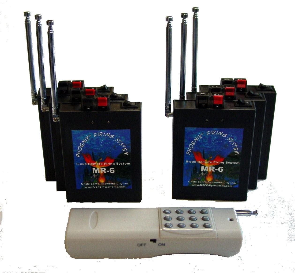 Phoenix MR-6 Multi-Receiver Firing System - FCC CERTIFIED