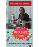 Paper, Paste, & String DVD by Vico