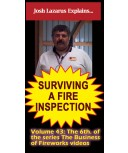 Surviving a Fire Inspection DVD by Joshua Lazarus